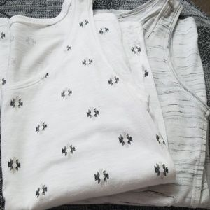 Two pack of tank tops (h&m and Old Navy)